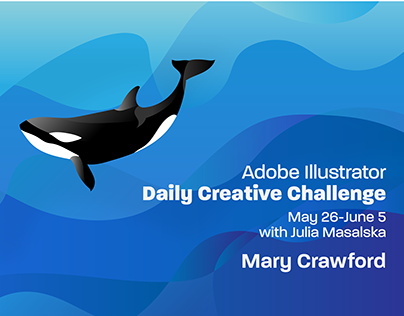 Adobe Illustrator Creative Challenge May 26-June 5