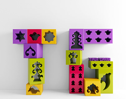 Tatar ornament boxes