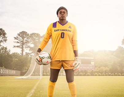 East Carolina University Soccer & Volleyball