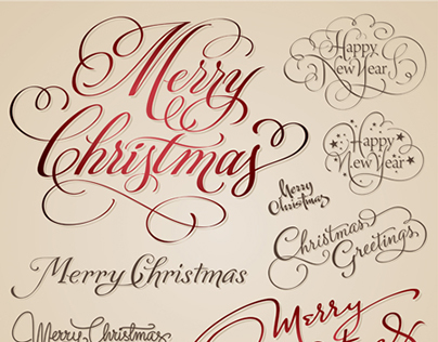 CHRISTMAS | Hand Lettering