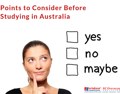Factors Related to Study in Australia