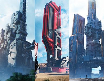 Future towers Oscar creativo