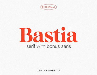 Bastia A modern serif