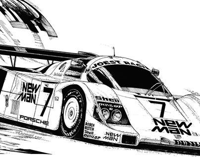 New Man Porsche 962C