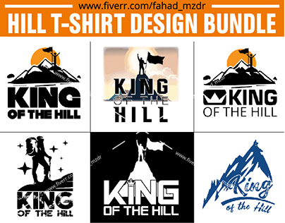 King of the Hill T-Shirt Design Bumdle