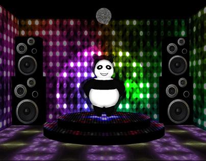 3D Panda dancing Macarena