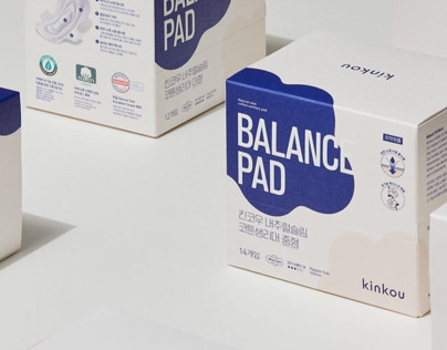 sanitary pad brand & package design