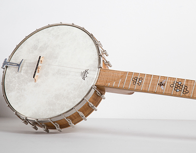 Honey Long Neck Banjo