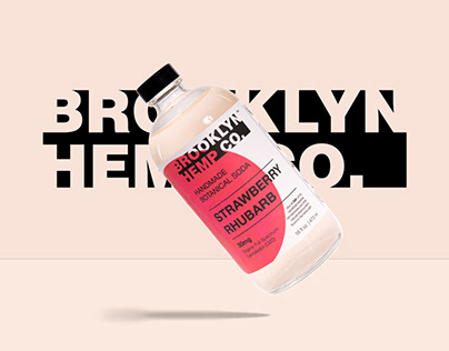 Brooklyn Hemp Co. Brand Identity and Packaging Design