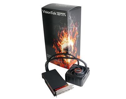 Packaging Design: VisionTek R9 300 Series