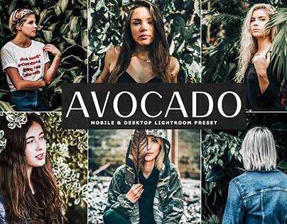 Free Avocado Mobile & Desktop Lightroom Preset