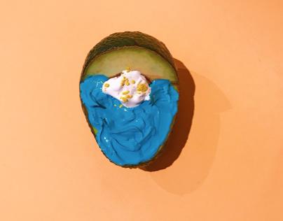 Painted Avocado | Creative shooting