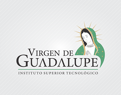 Logo e isotipo - Virgen de Guadalupe