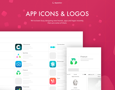 New app icons and logos