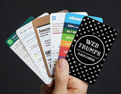 Web Trumps by MJOM Cards