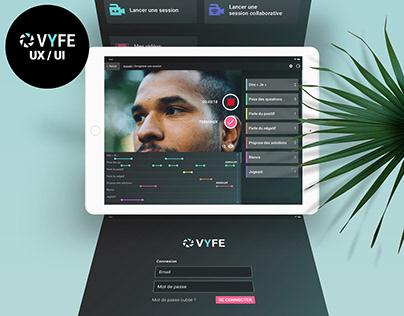 Vyfe App UX / UI