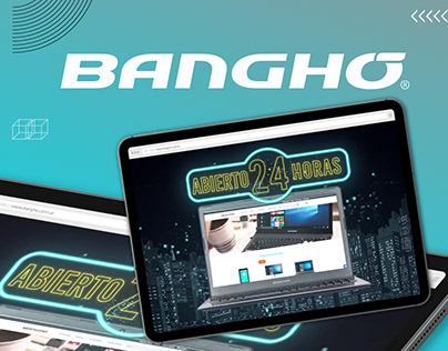 Banghó Argentina Promo E-commerce - Dirección Creativa