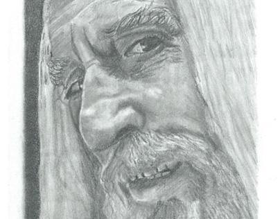 Saroumane de la saga Le Seigneur des Anneaux