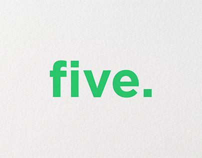 FIVE. - BRANDING IDENTITY