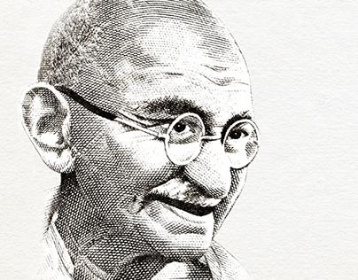 ANTI CORRUPTION AD - Gandhi