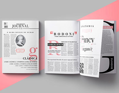 BODONI // JOURNAL