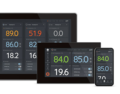 logotherm – Interface for temperature control systems
