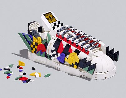 LEGO x Leta - Adidas Artist Collaboration