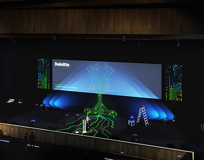 Rehearsal - 3d model & render for corporate conference