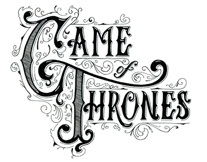 Game of Thrones Quotes - Hand Lettering & Typography