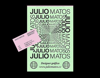 Julio Matos I Personal Brand Identity