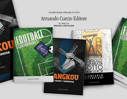 BOOK PROJECTS - ARMANDO CURCIO EDITORE (BOOK COVER)