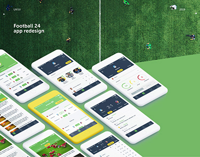 Football24 app redesign