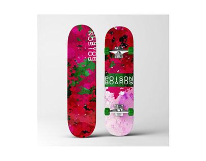 Poison Boards skateboard design