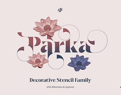 Decorative Stencil Family