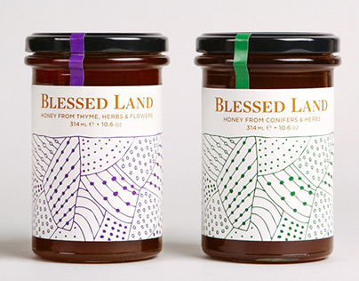 Blessed Land Natural Foods – Packaging