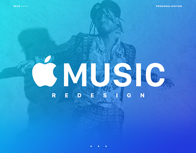 Apple Music Playlist Redesign