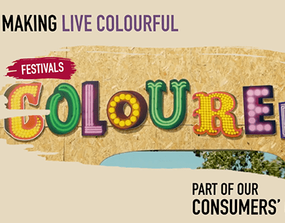 Bulmers 'Live Colourful' campaign