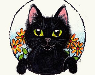 Inktober Cats 2019