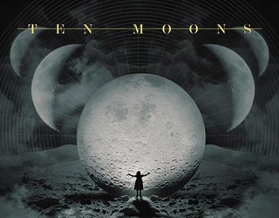 Ten Moons - Album Cover