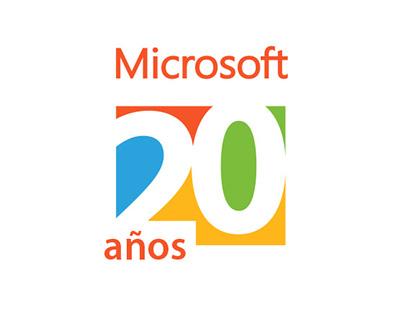 Branding: 20 años Microsoft Colombia