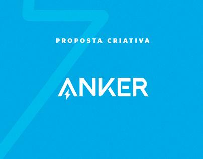 Proposta criativa Anker