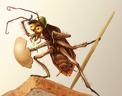 Insect warrior character design