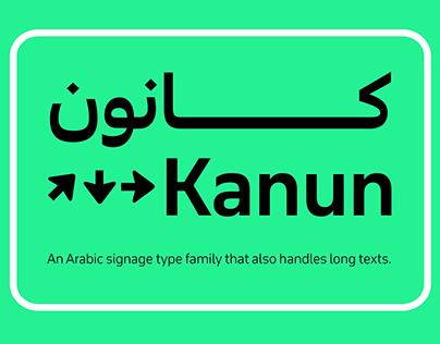 Kanun - Signage Typeface