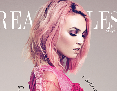 Oh So Pink for DREAMINGLESS Magazine