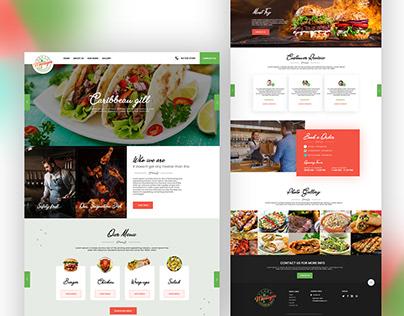 Take away food website!