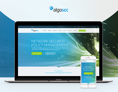 AlgoSec - Responsive Web Design