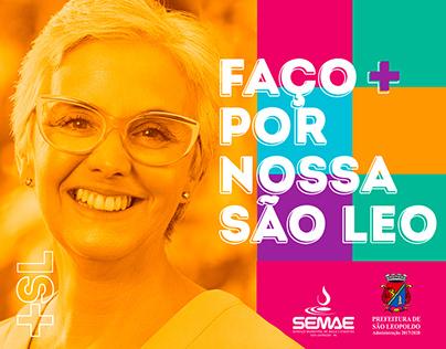SEMAE/São Leopoldo - Campanha Faço+