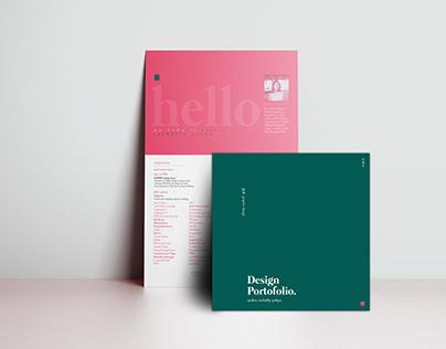 Graphic Design Resume and Portfolio