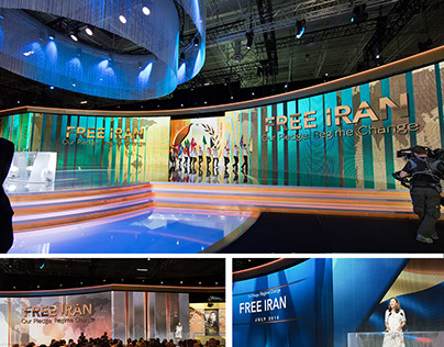 Beautiful Stage Design for Led Screen- grand gathering,