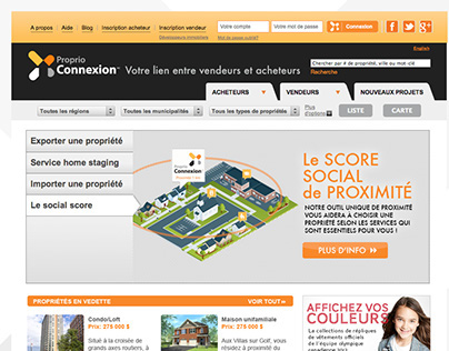 Proprio Connection Web Design